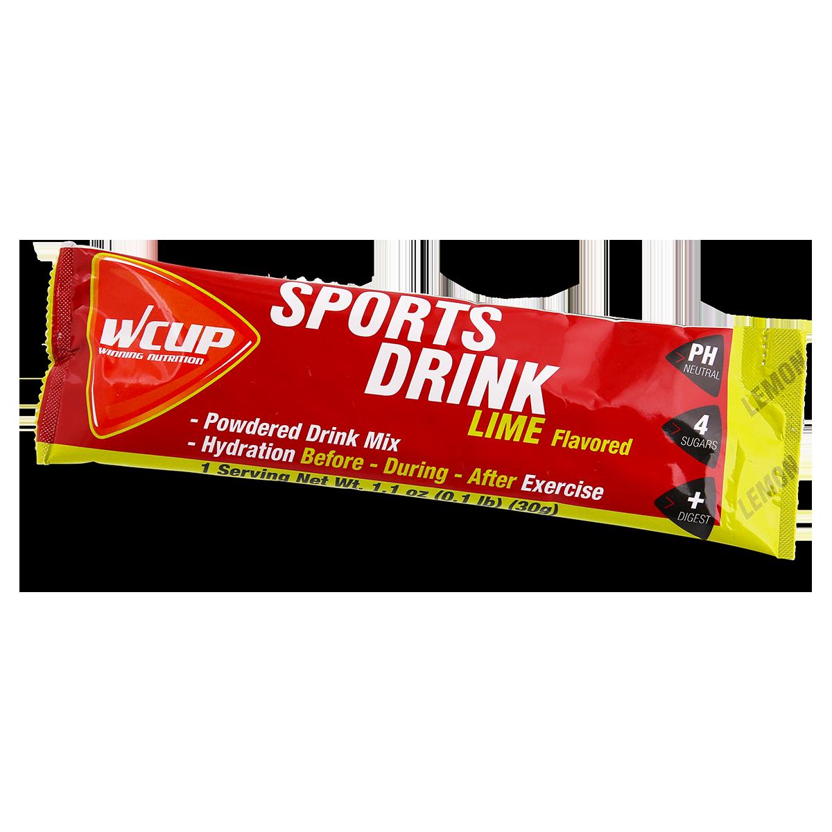 Sports Drink Lime Single Serve